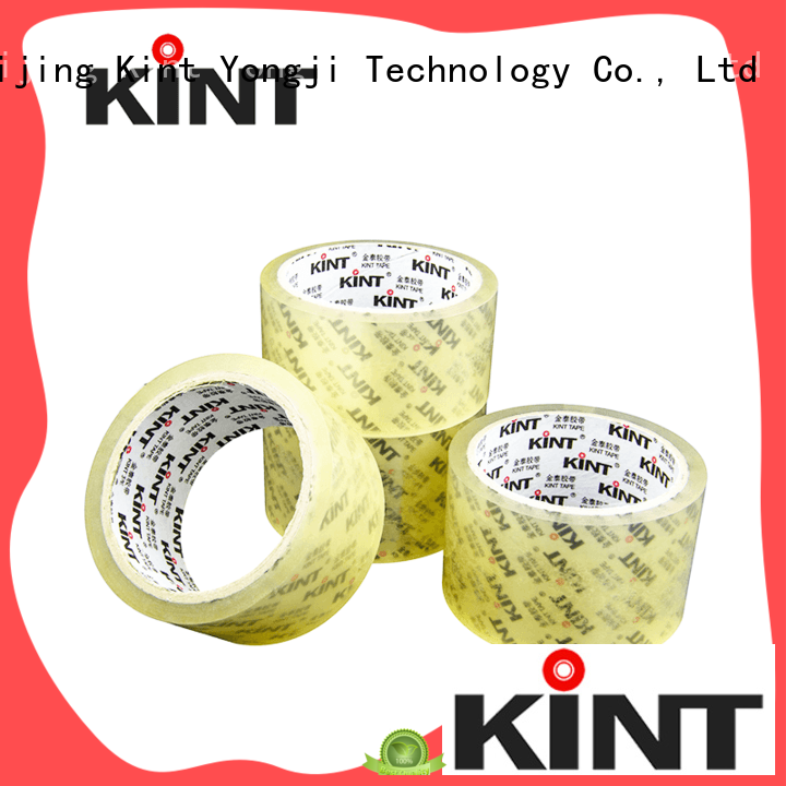 Kint excellent performance printed packing tape for industrial plating