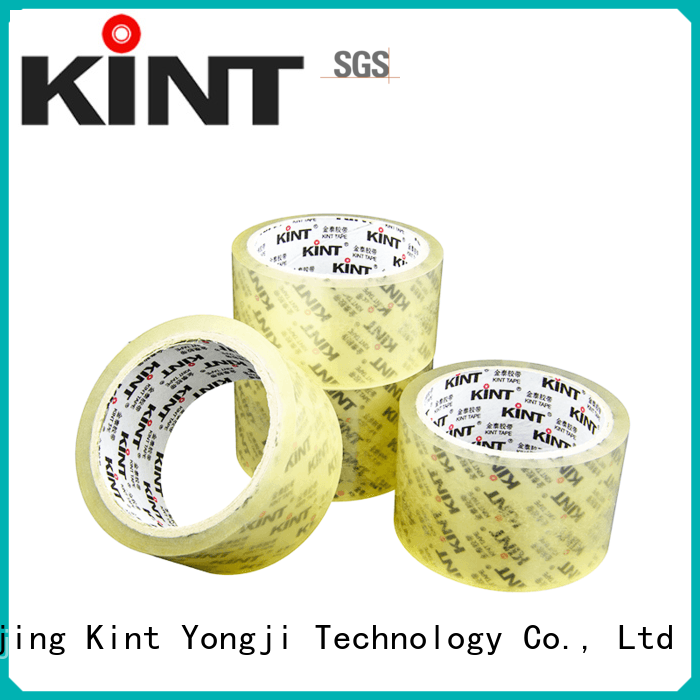 Kint printing commercial packing tape for business for industrial plating