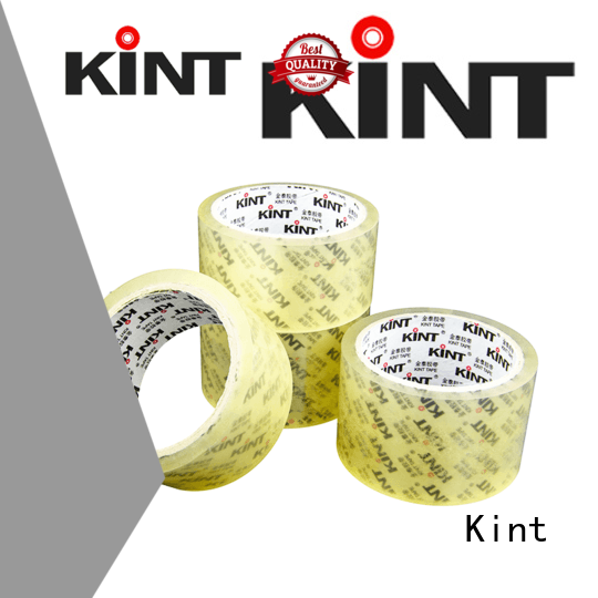 Kint clear packing tape supplier for super high temperature spraying