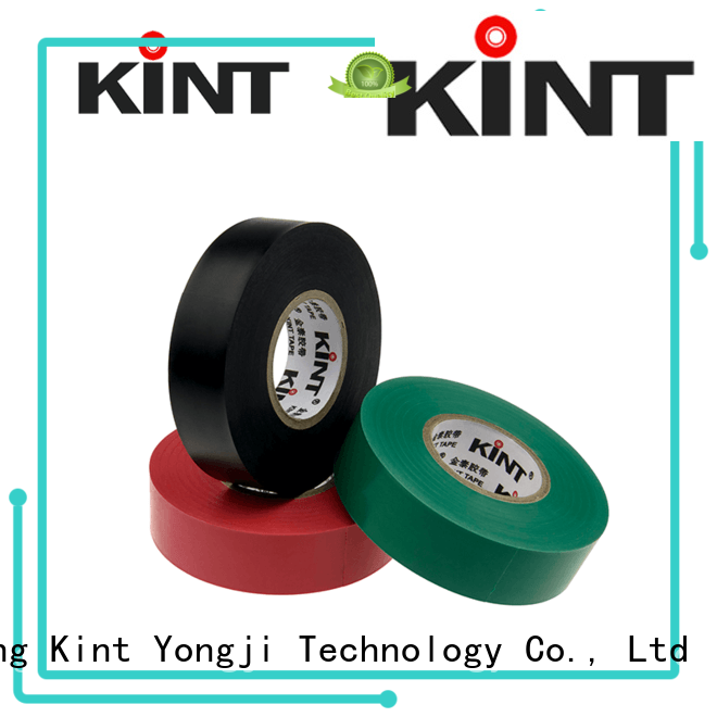 Kint New pvc electrical tape manufacturers for electrical insulating application
