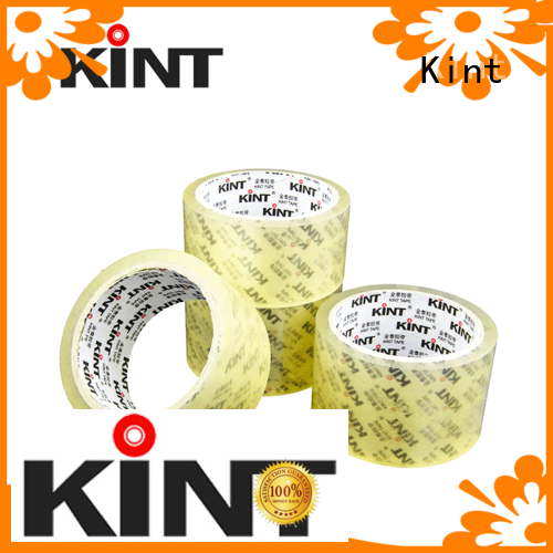 Kint clear packing tape promotion for industrial plating