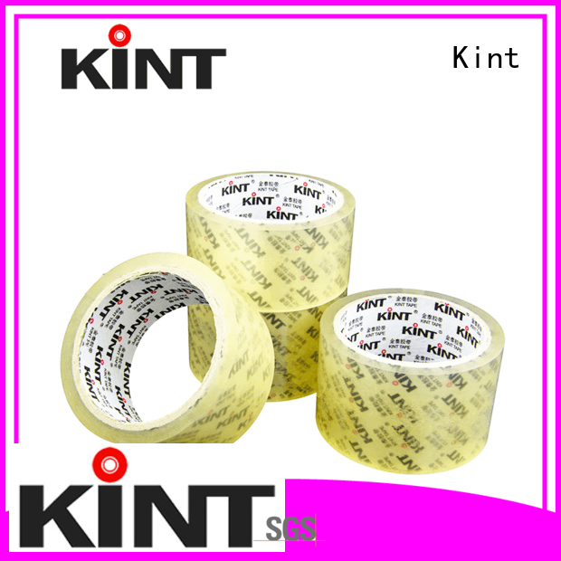 Kint clear packing tape directly sale for industrial plating