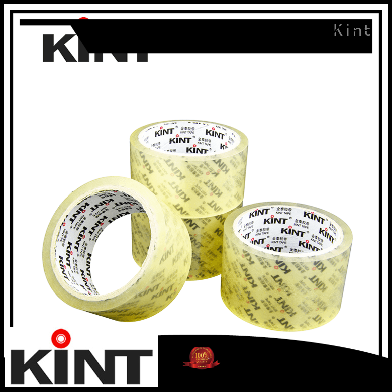 Kint good quality printed packing tape for powder spraying