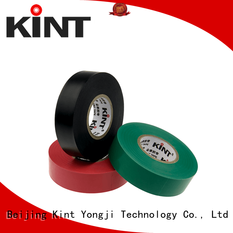 Kint customized pvc insulation tape factory price for electrical insulating application