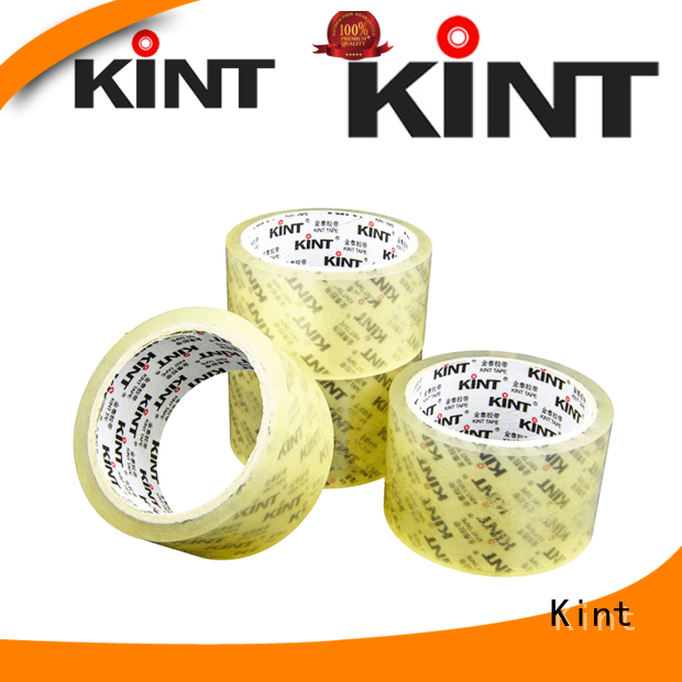 Kint clear packing tape directly sale for powder spraying