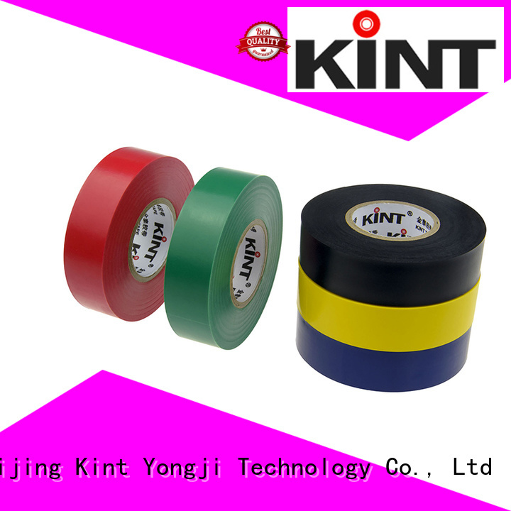Kint professional pvc insulation tape for electrical insulating application