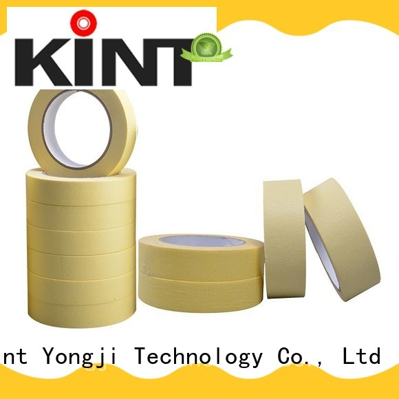 high adhesion masking tape easy to use for light duty packaging