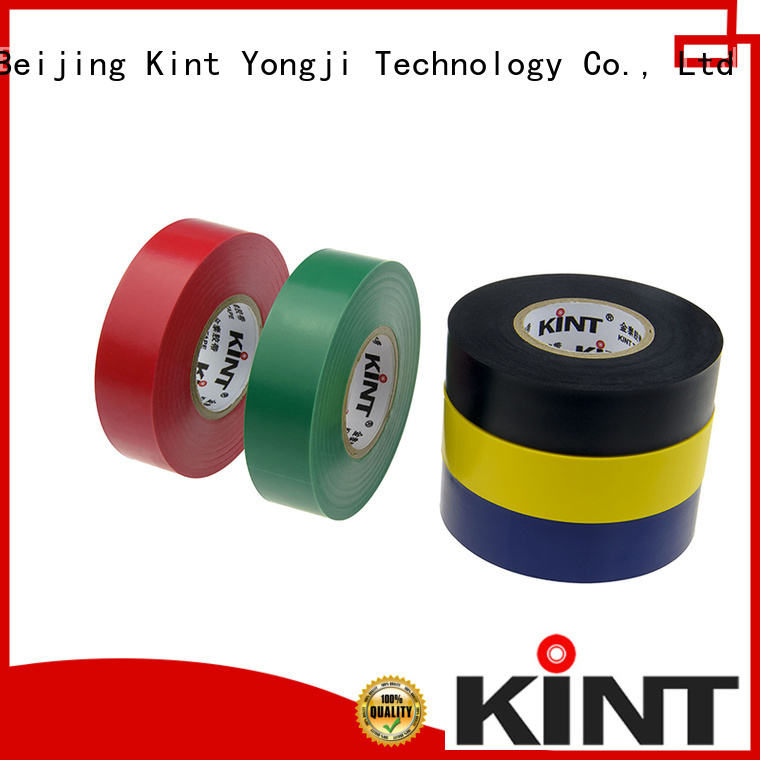 Kint Top pvc electrical tape factory for electrical insulating application