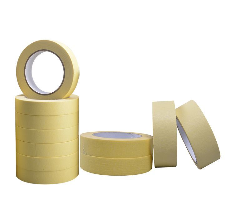 Natural Colored Masking Tape for Fixing Resistors