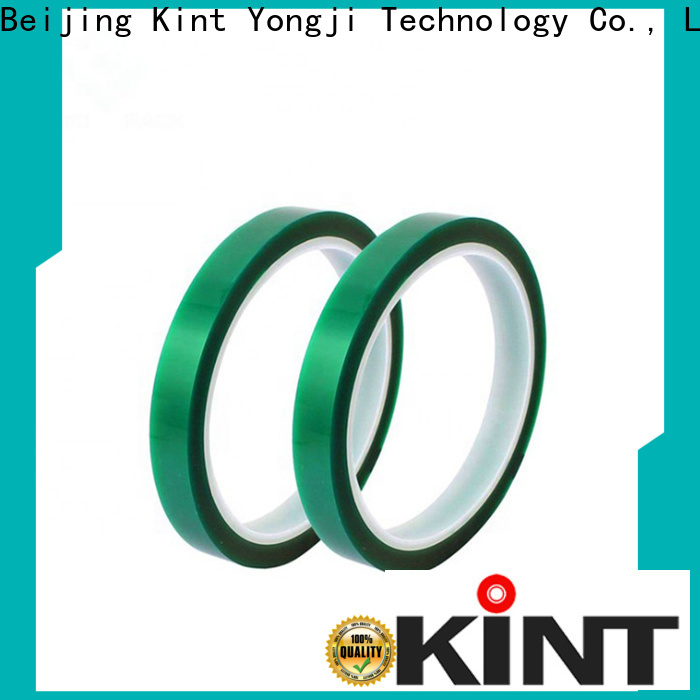 Kint electroplating green polyester tape for business for industrial plating