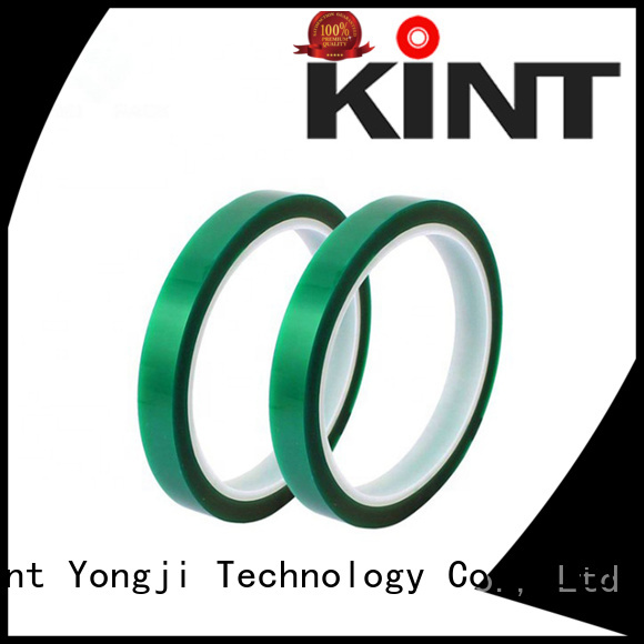 waterproof green polyester tape wholesale for super high temperature spraying