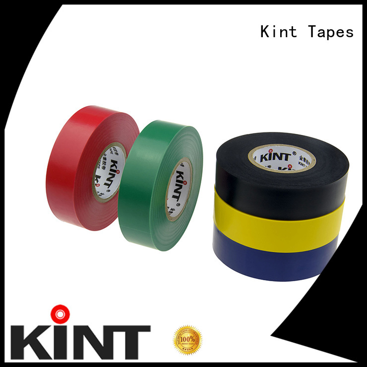 Kint pvc electrical tape supplier for electrical insulating application