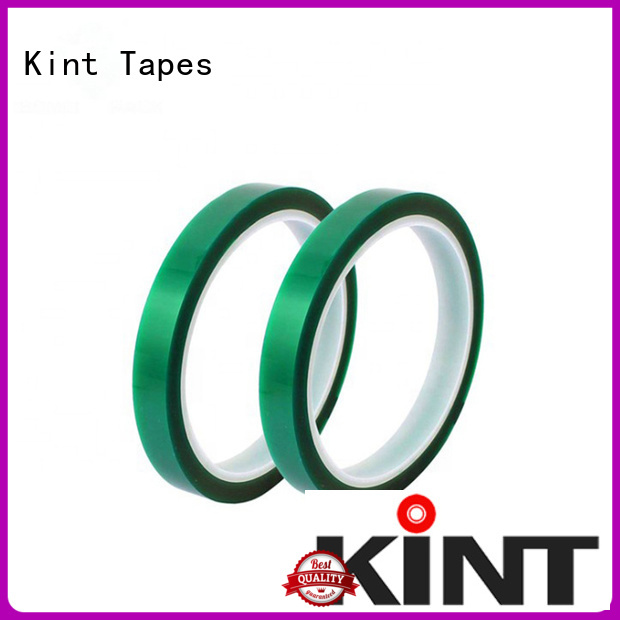 Custom green polyester tape tape Suppliers for super high temperature spraying