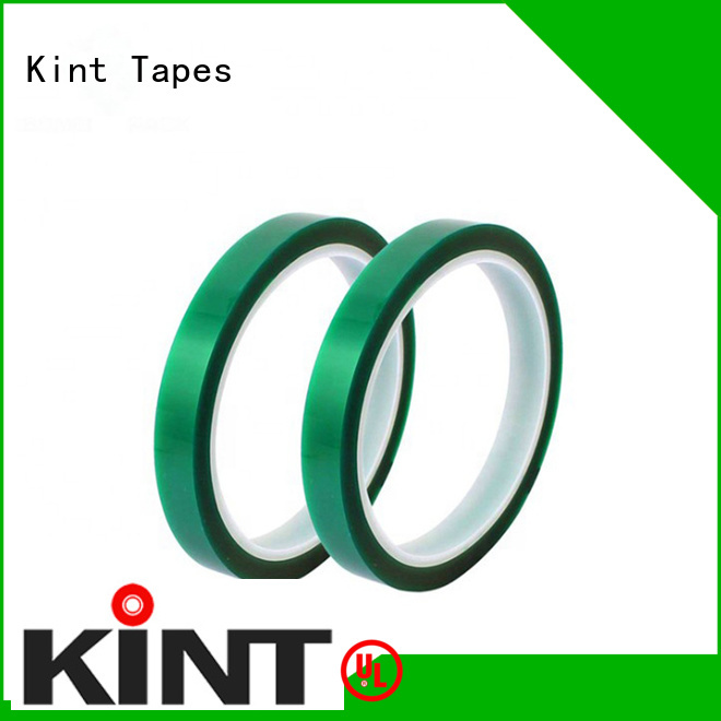 Kint inexpensive pet high temperature tape supplier for industrial plating