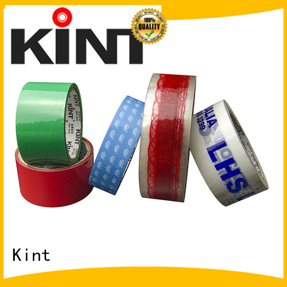 Kint packing scotch clear packing tape Suppliers for super high temperature spraying