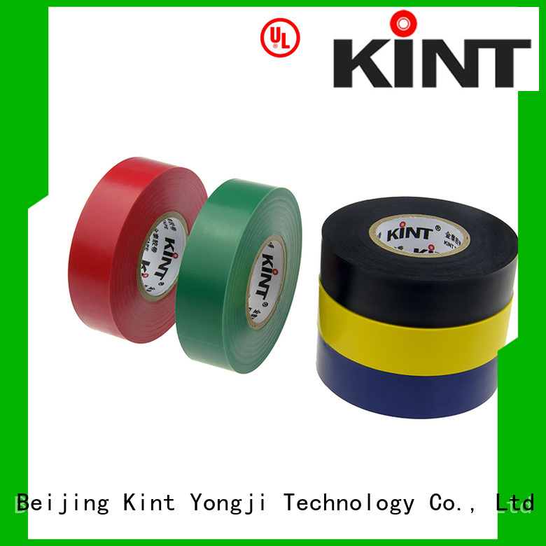 Kint selfextinguishing custom electrical tape factory for electrical insulating application