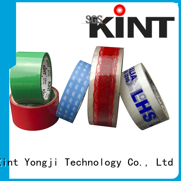 Kint packing tape supplier for powder spraying