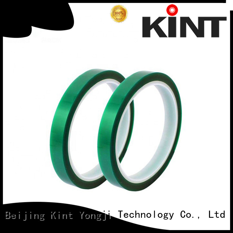 different color pet high temperature tape directly sale for super high temperature spraying