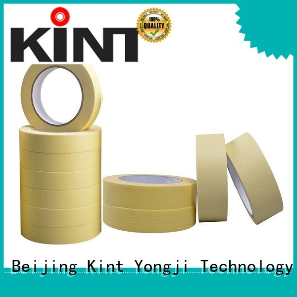 high temperature resistance white masking tape supplier for light duty packaging