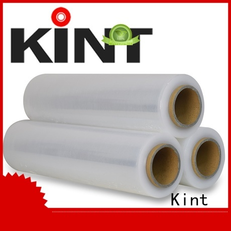 Kint nontoxic stretch film producer factory for transportation