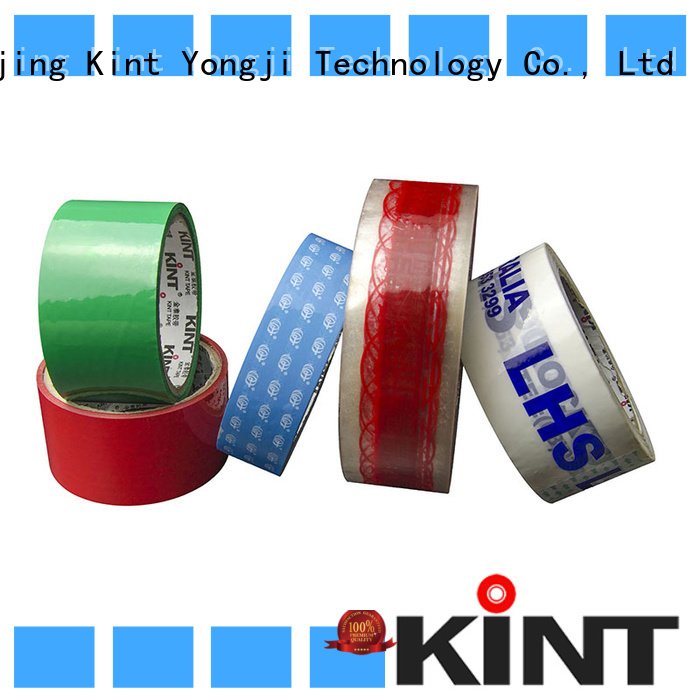 Kint reasonable structure bopp packing tape promotion for super high temperature spraying