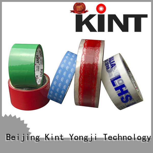 Kint Top 2 clear packing tape Supply for super high temperature spraying