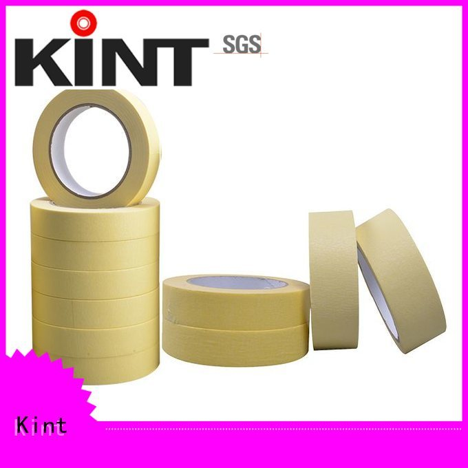 Kint natural non stick masking tape Supply for woodwork