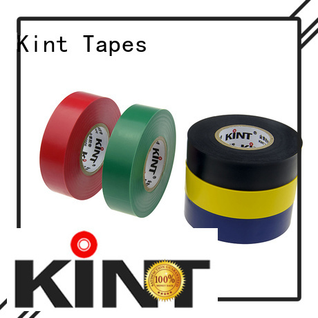 Kint professional pvc electrical insulation tape personalized for electrical insulating application