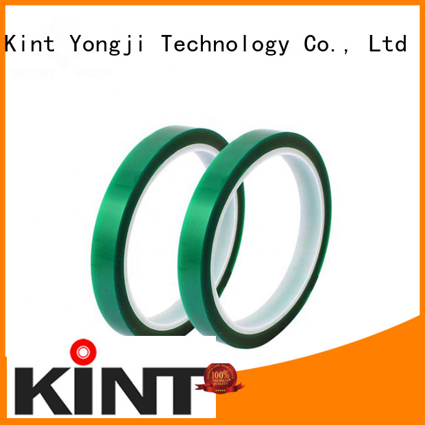 Kint high temperature adhesive tape directly sale for powder spraying