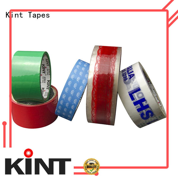 Kint designed packing tape supplier for powder spraying