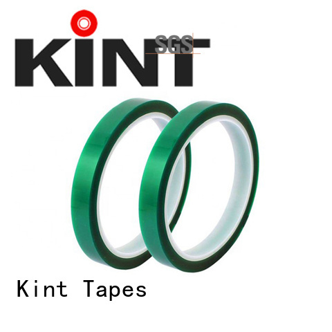 Kint Best green polyester tape Supply for super high temperature spraying
