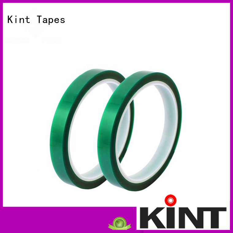 Kint pet high temperature tape directly sale for industrial plating