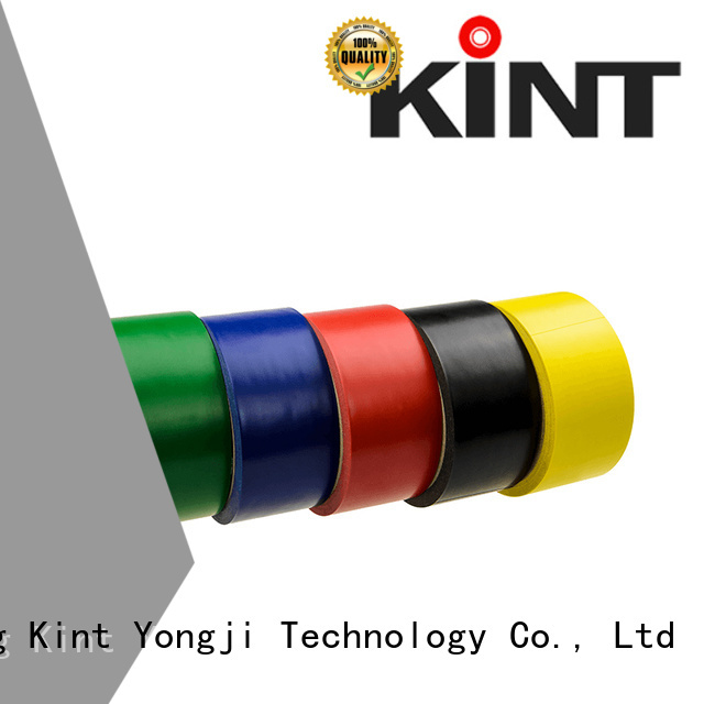 Kint marking black and yellow safety tape manufacturers for insulation damage repair