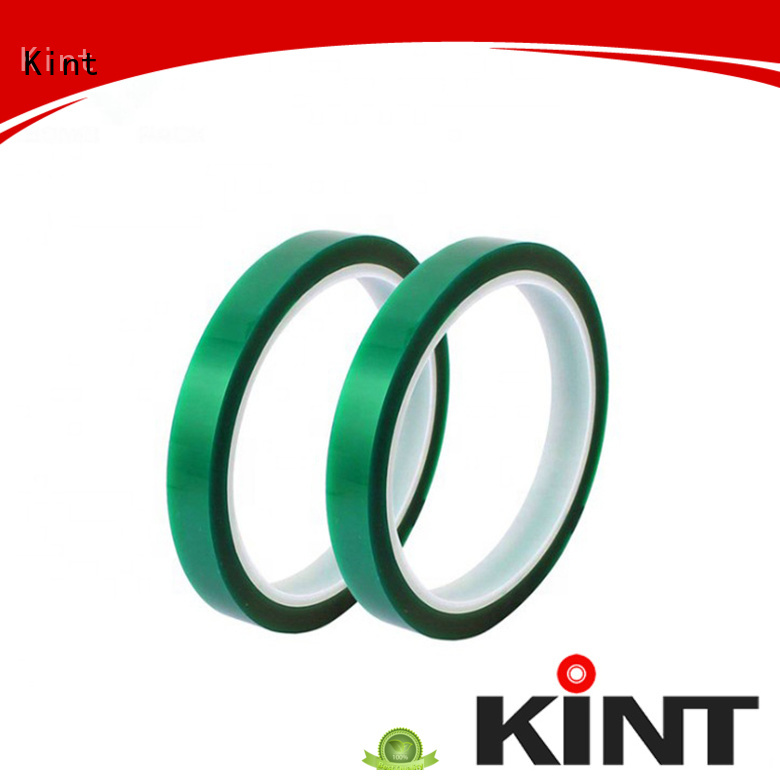 Kint pet high temperature tape for business for industrial plating