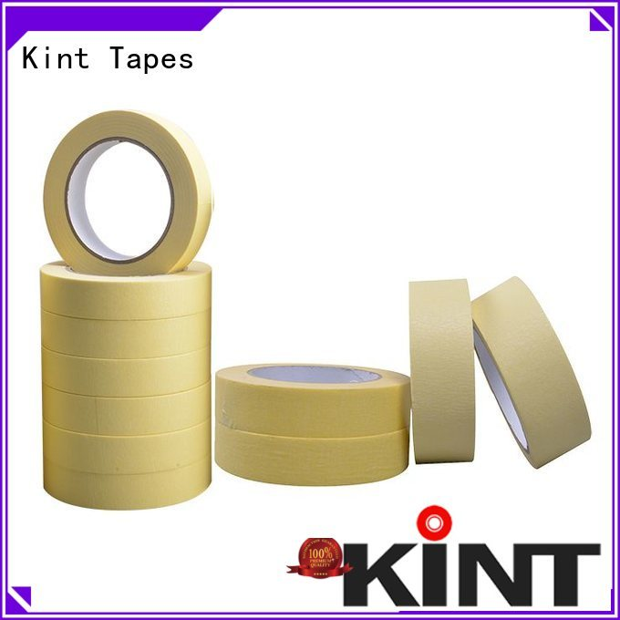 no residue industrial masking tape directly sale for light duty packaging Kint