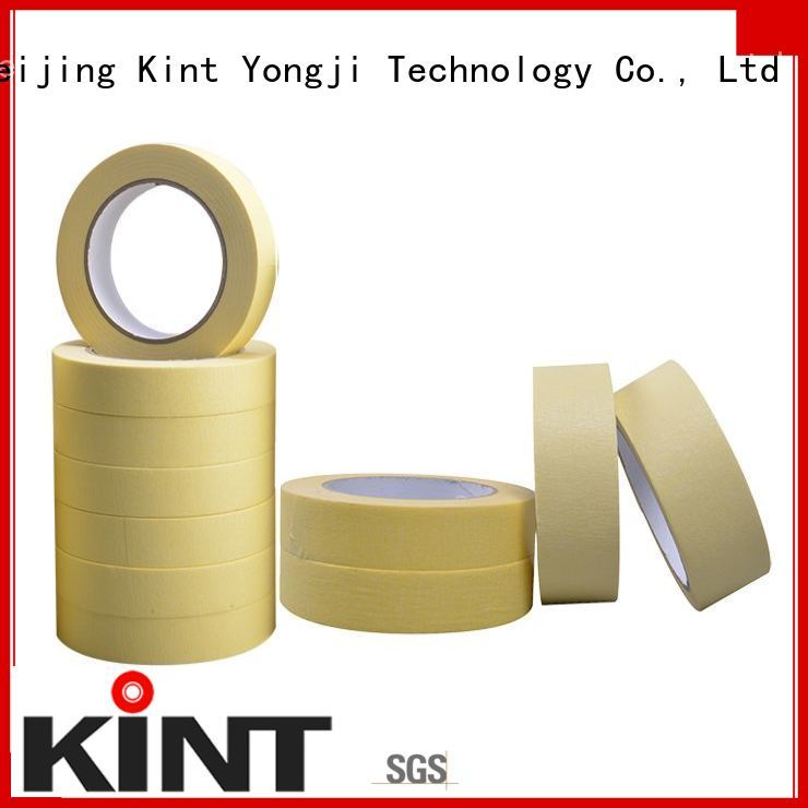 Kint high temperature resistance white masking tape wholesale for home decoration